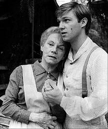 image of Grandma Walton and John Boy